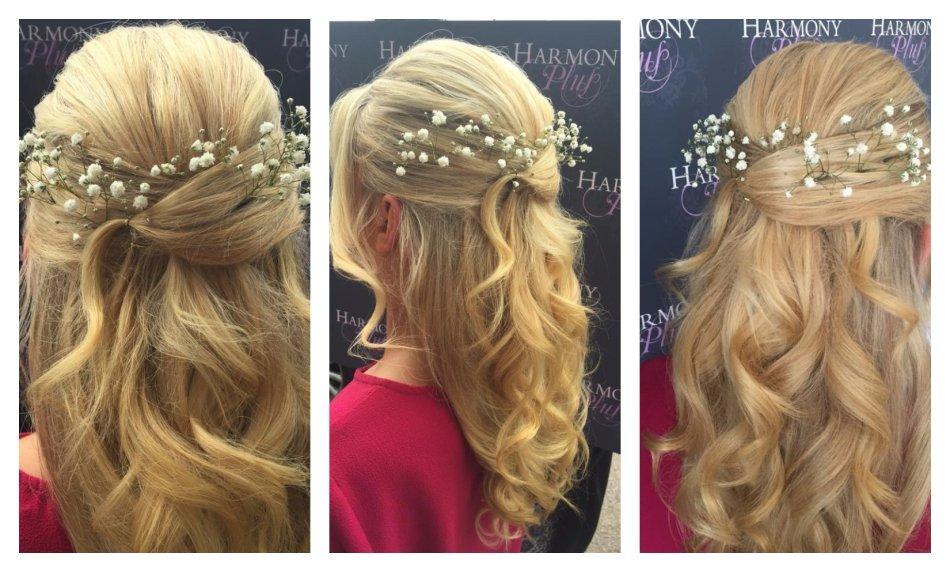 wedding hair salon edlesborough