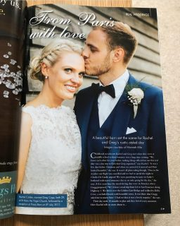 The Harmony Hair & Beauty Team Feature in Top Bridal Magazine!!