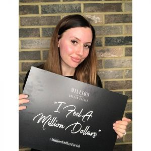 Glowing skin with a Million Dollar Facial from Harmony Plus Beauty Salon near Harpenden