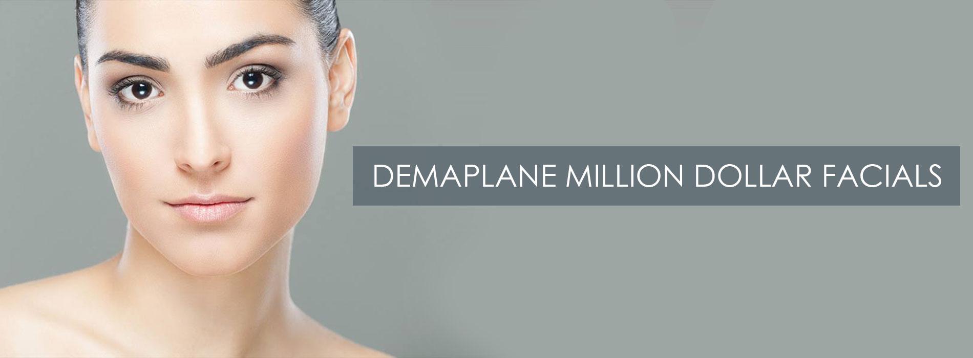 Demaplane-Million-Dollar-Facials at Harmony Plus Beauty Salon & Skin Clinic near Leighton Buzzard